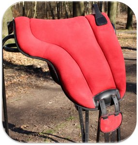 Barebackpad Support Suede Red